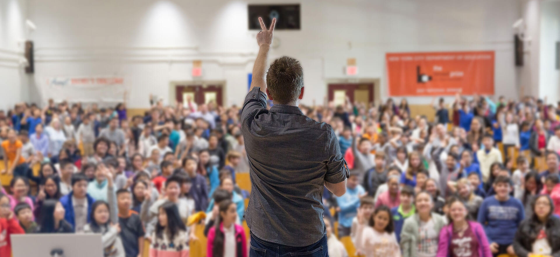 Image of America's top anti-bullying speaker Tom Thelen