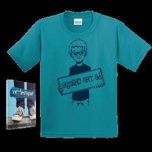 Victimproof Book   T-Shirt